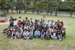 第4回犬一揆野外活動ゴミ拾いin浜寺公園