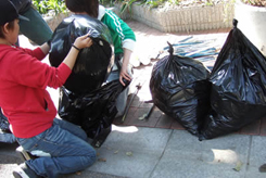 第2回犬一揆野外活動ゴミ拾い
