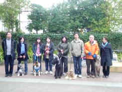 第11回犬一揆野外活動ゴミ拾い