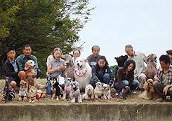 第9回犬一揆野外活動ゴミ拾い